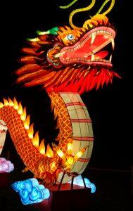 De Draak is belangrijk voor de authentieke Feng Shui