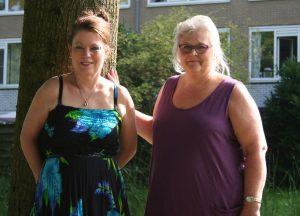 Mary-Rose Kolkman en Sylvia te Braake