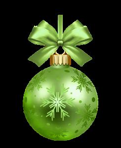 De chi van de keuze van kerstballen